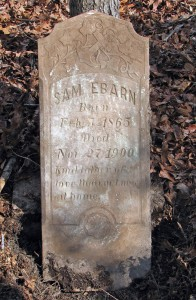 Sam Ebarn marker cleaned